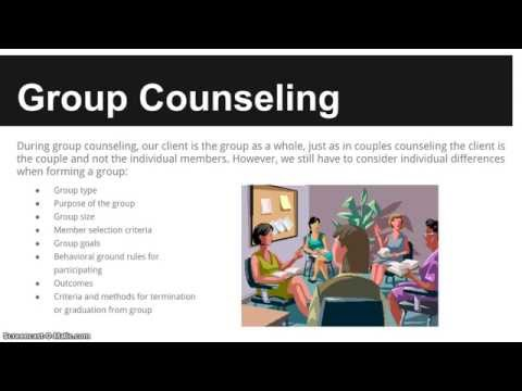 Alcohol and Drug Counselor Exam 8 Practice Domains - 5. Counseling