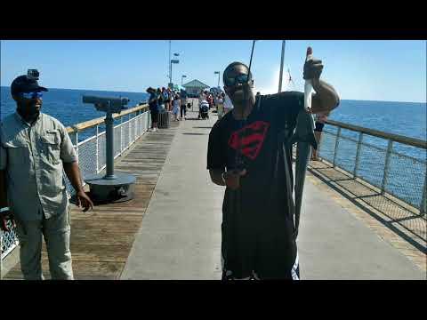 Pier Fishing In Destin, Florida
