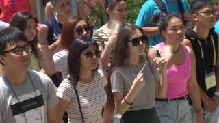 KBS부산 뉴스9  러시아 사할린 청소년 부산 방문 - 2016.08.04
