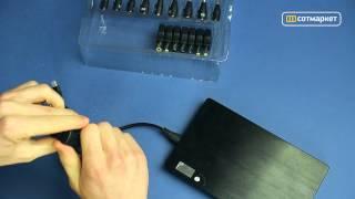 Видео обзор универсальной внешней батареи TOP ON top-max от Сотмаркета