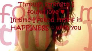 Alexis Jordan- Happiness (W/lyrics)