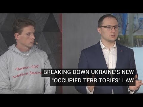Oleksiy Ryabchyn and Vyacheslav Likhachev Discuss Ukraine's New Law On The Occupied Territories