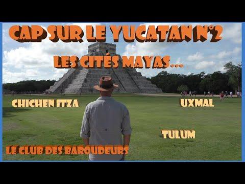 CAP SUR LE YUCATAN N°2: Cités Mayas: Uxmal - Chichen Itza - Tulum (carnet de voyage au Mexique)