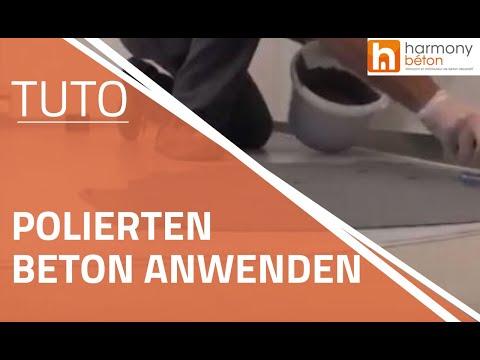 Fußboden Polierter Beton ~ Wie polierten beton anwenden youtube