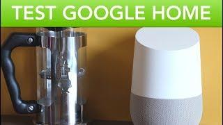 Test du Google Home en Français (Review)