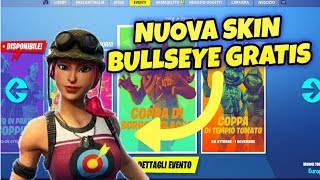 COME AVERE LA SKIN BULLSEYE GRATIS SU FORTNITE