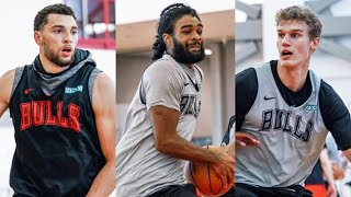 Chicago Bulls Minicamp Highlights & Recap! | COBY WHITE Hit 2 GAME WINNERS & More!
