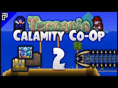 ⭐️ Loot Galore! BUFFED Desert Scourge! | Terraria Calamity Mod Co-Op Playthrough [#2]