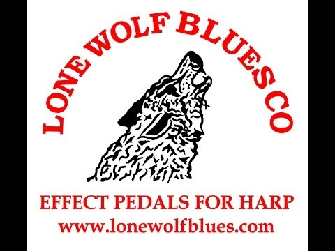 Harmonica Effect Pedal Demo (Lone Wolf Blues Company HarpBreak, Flat Cat, and V2 Delay)