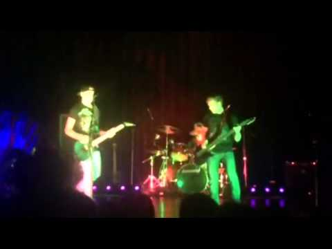 Josh Struble Yorktown Talent Show 80's and 90's rock medly