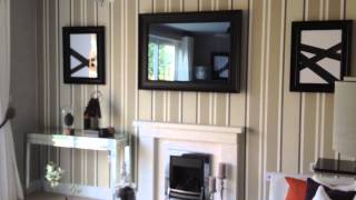 Mirror TV above fireplace - PictureFrame.TV