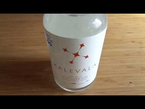 Smart Label demonstration (NFC chip) - Kalevala Gin