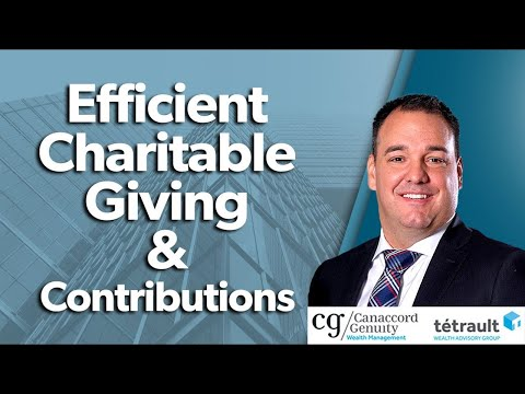 Efficient Charitable Giving & Contributions