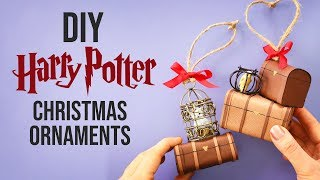 20 DIY Harry Potter Christmas Ornaments