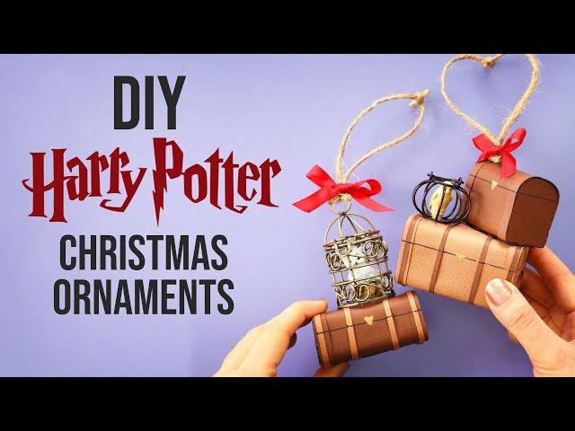 20 DIY Harry Potter Christmas Ornaments