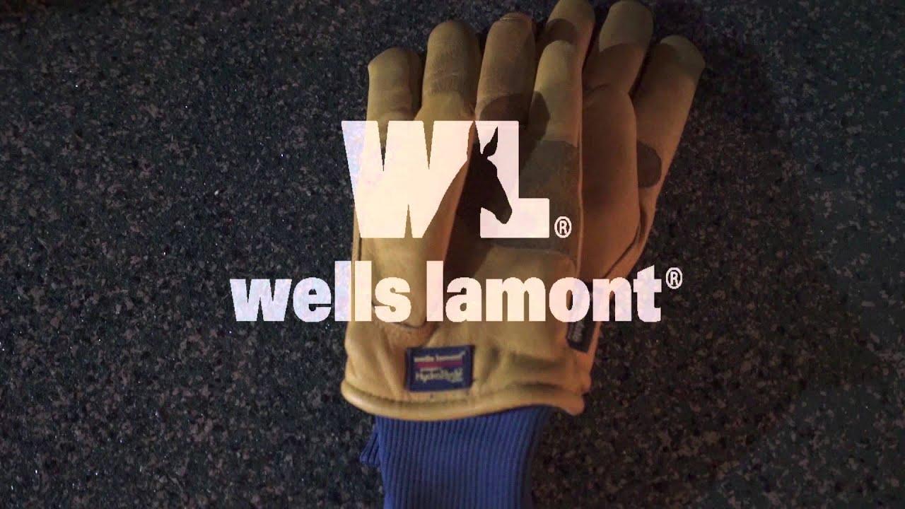 Leather work gloves screwfix - Wells Lamont Hydra Hyde Premium Work Gloves