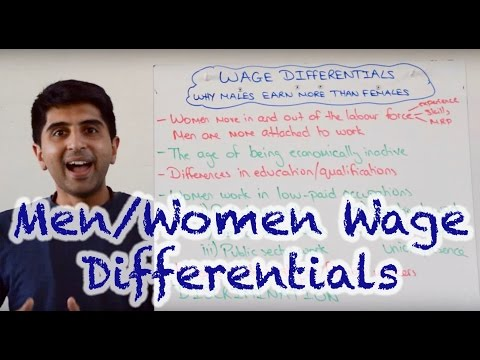 Wage Differentials - Why Do Men Earn More Than Women?