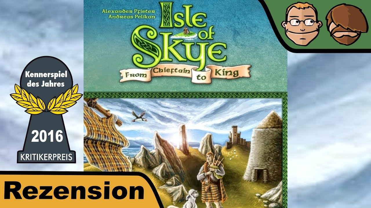 Isle Of Sky Brettspiel