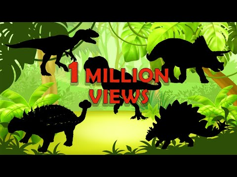 Dinosaurs Puzzle For Children | Learn Dinosaurs Name | The BEST Of Dinosaurs  | Jurassic World