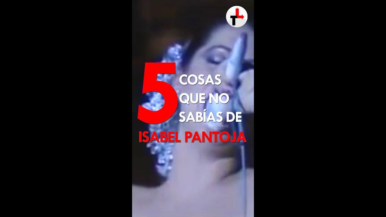 5 COSAS QUE NO SABÍAS DE ISABEL PANTOJA 🌹🌹 #isabelpantoja #shorts