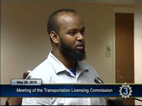 05/28/15 Transportation Licensing Commission Meeting