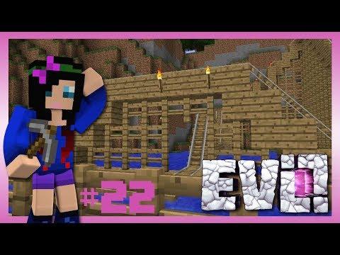 THE TAURTIS THEME PARK?! Minecraft Evolution SMP #22