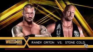 WWE 2K16 - Randy Orton vs. Stone Cold Steve Austin