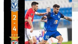Lech Poznań - SL Benfica | Skrót Meczu | Wszystkie  Gole | Highlights | All Goals | xBEDEK