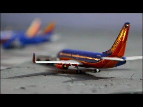1:400 scale model airport update of Baltimore-Washington internatonal (BWI)