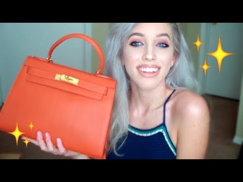 DESIGNER LEATHER PURSE UNBOXING | Teddy Blake