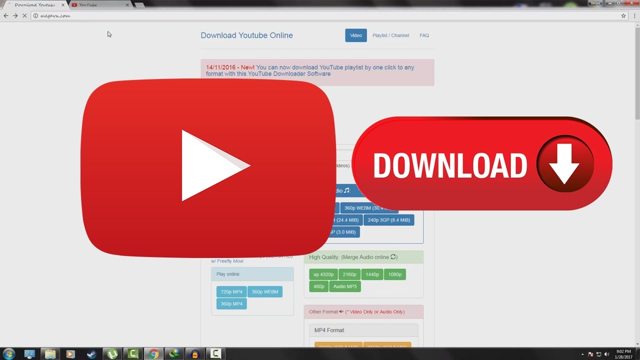 How To Download Youtube Videos On Pc In Hd