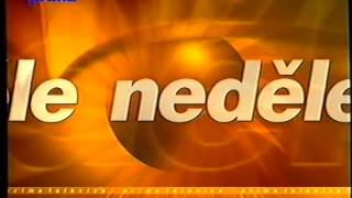 TV Prima - Znělky a upoutávky: 1997/98