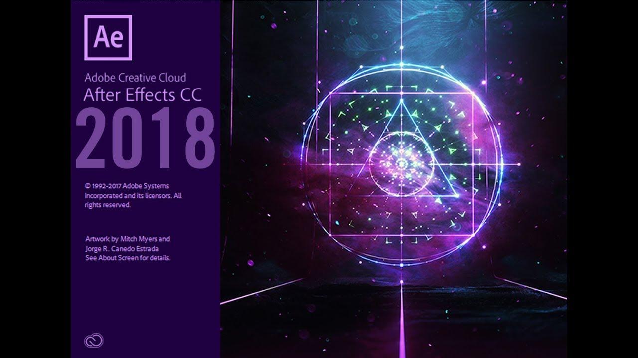 Hướng dẫn cài đặt  After Effects CC 2018