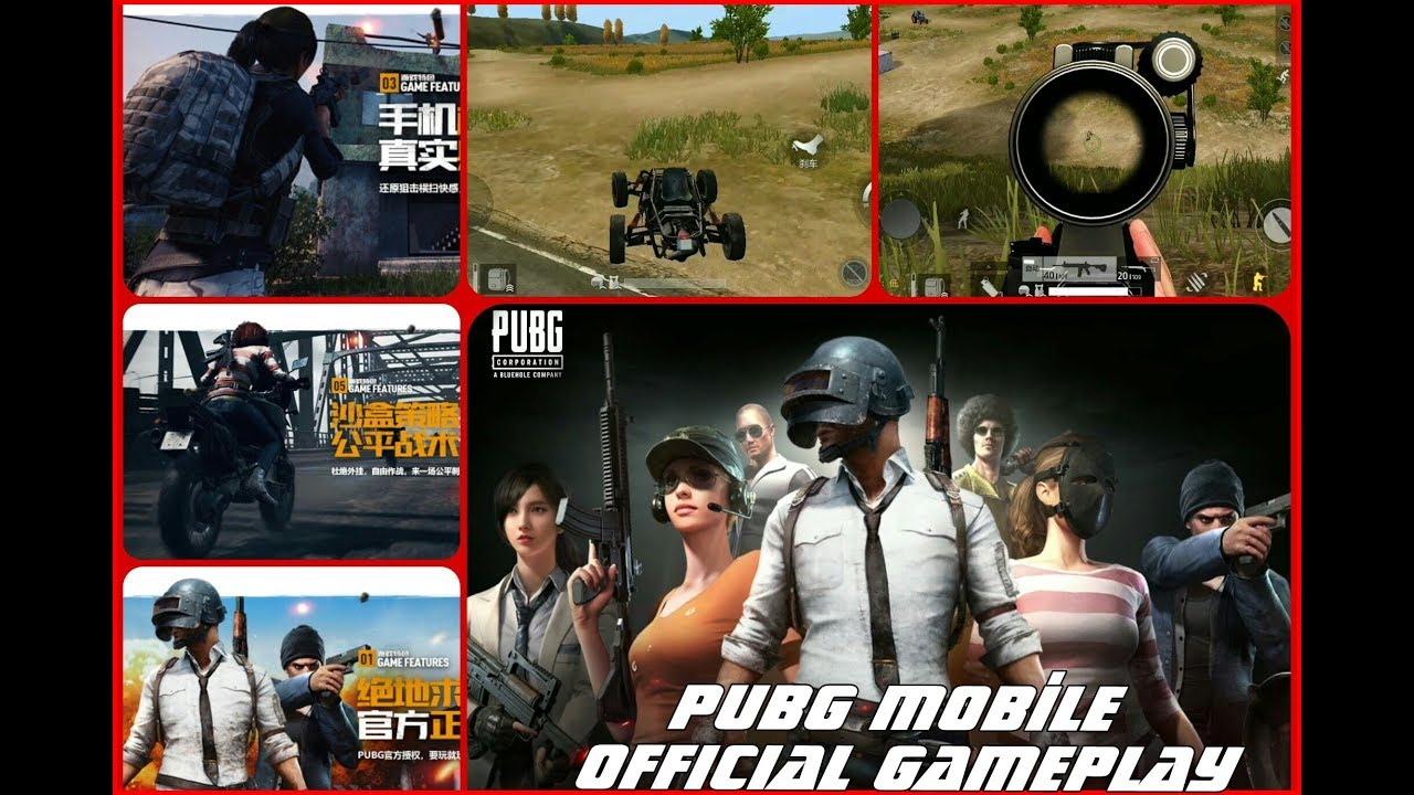 PUBG Mobile Official Gameplay - Android Trailer