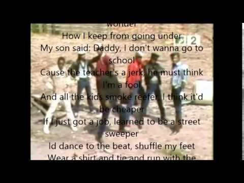 Grandmaster Flash & The Furious Five- The Message Lyrics+Video