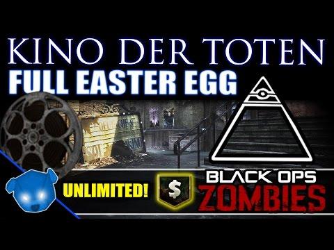 Black Ops Zombies ☆ NEW KINO EASTER EGG! ILLUMINATI FUND!