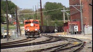 BNSF Coal Train at Burlington, Iowa