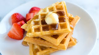 Secrets for How to Make the Best Waffles from Scratch - Homemade Waffle Recipe