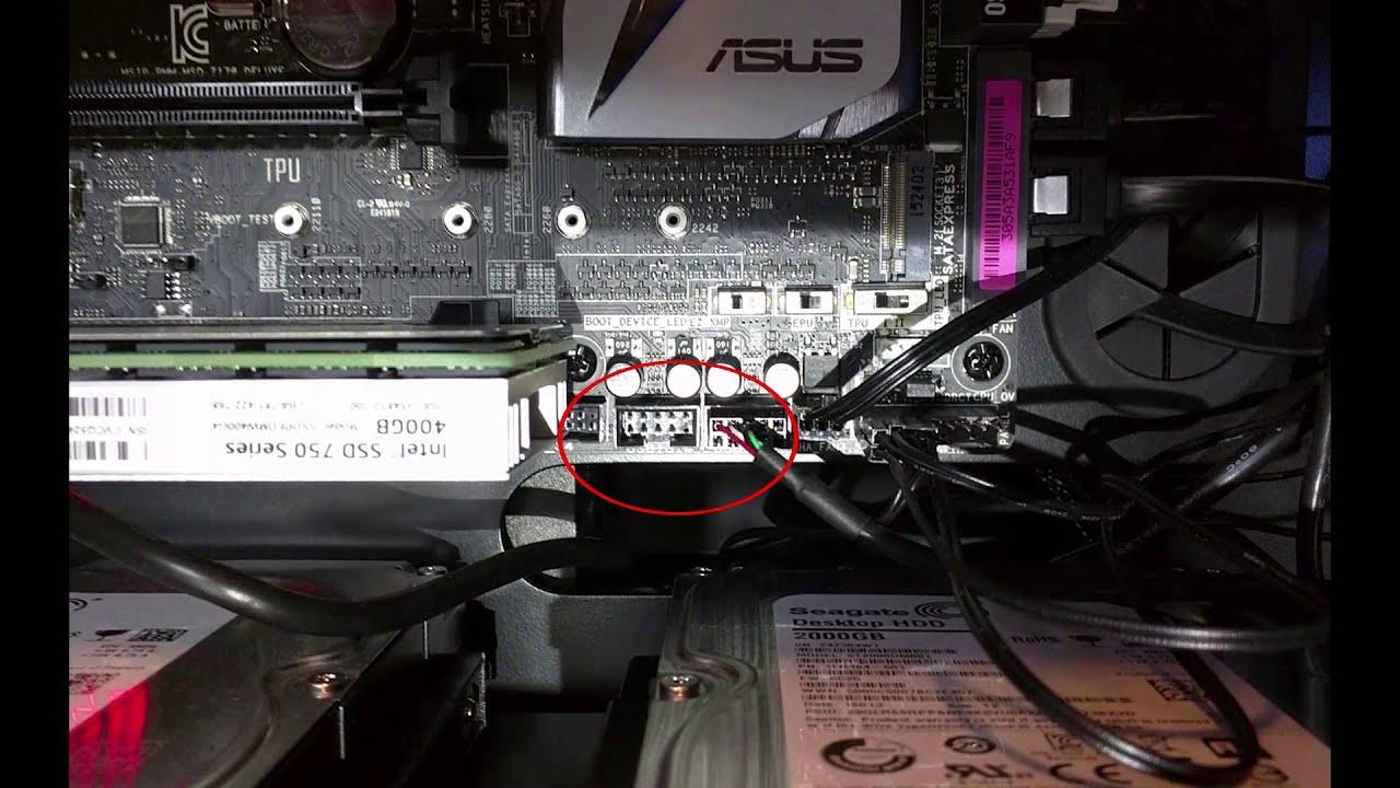 Z170-Deluxe / Z170 Motherboard connector rundown - YouTube