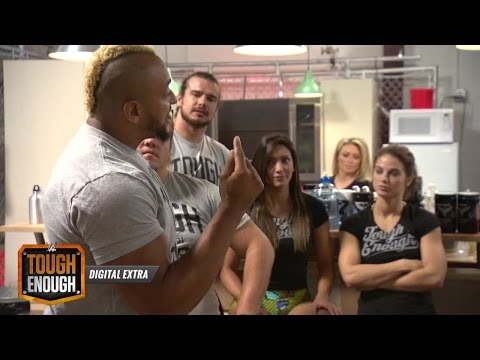 Mada Unloads On Tanner: WWE Tough Enough Digital Extra, June 30, 2015