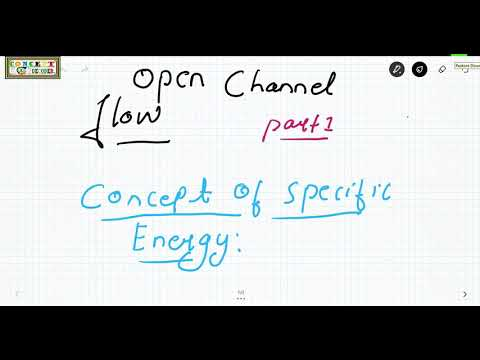 Ocf,concept of specific energy,and how to draw specific energy curve