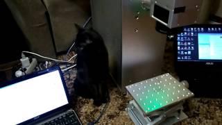 Новый волоконный лазерный гравёр 20 вт