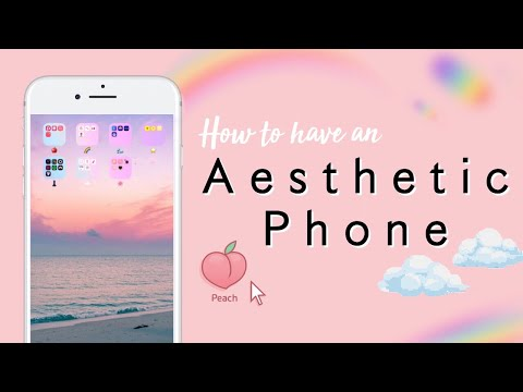 How To Have An Aesthetic Phone Case Wallpaper Organization Fonts Youtube