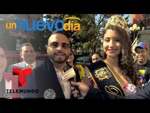 ¡Nueva York festeja la independencia de Ecuador!   Un Nuevo Día   Telemundo