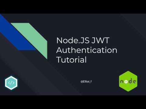 NodeJS JWT Authentication Tutorial | TutorialEdge net