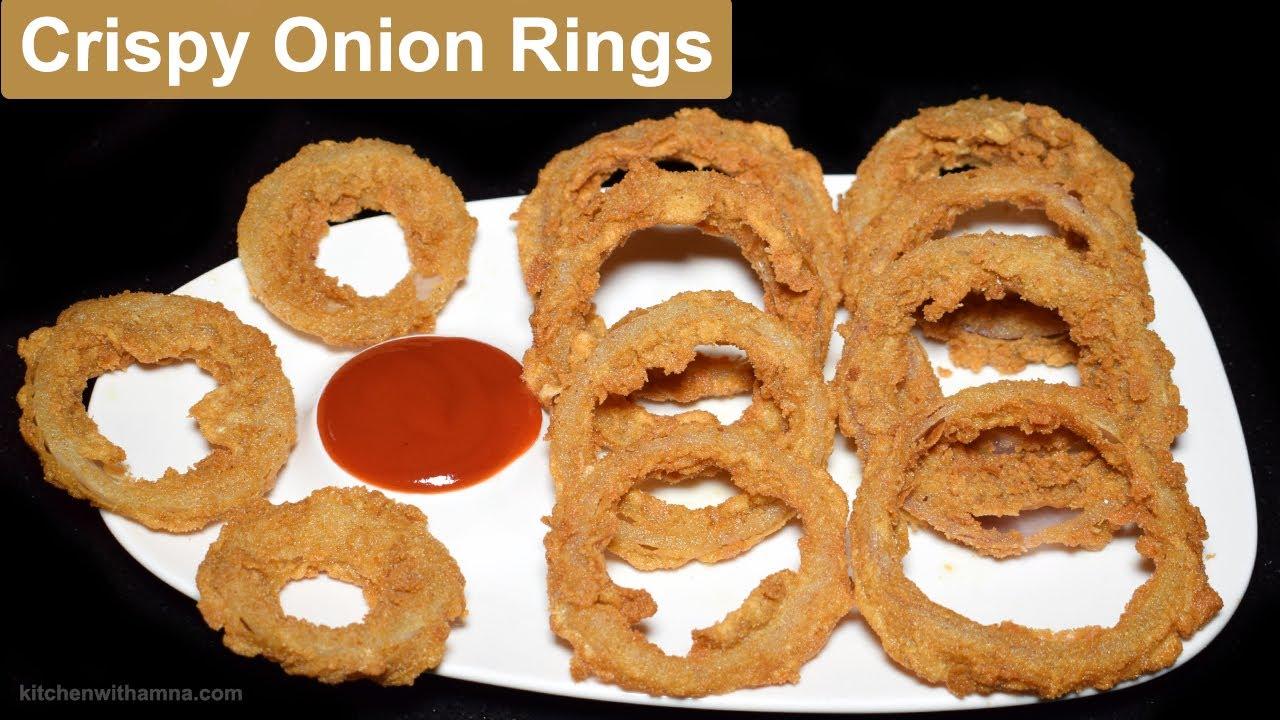 Crispy Onion Rings Recipe How To Make Onion Rings Special Ramadan Recipe