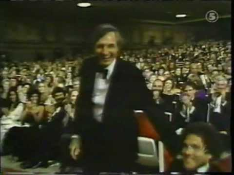 Alan Alda's cartwheeling at the Emmy Awards 1979