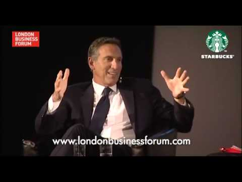 Howard Schultz- Starbucks' CEO Talks About His Business