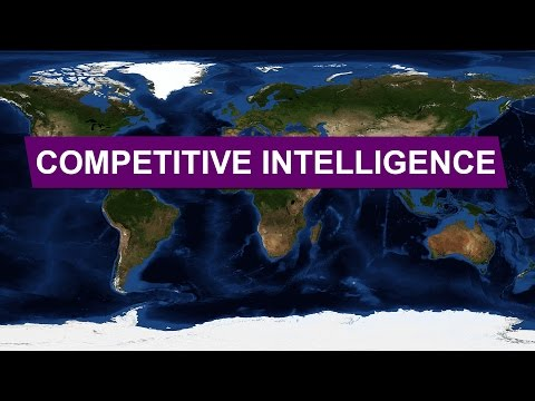 Competitive Intelligence • Explained With Maps