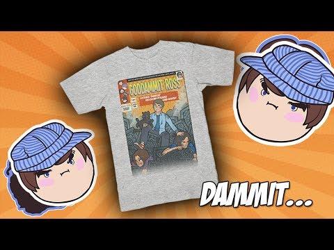 Goddammit Ross Shirt! ONE WEEK ONLY!